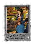Stamps Yemen -  Gauguin: