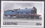 Stamps Africa - Lesotho -  Tren