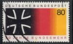 Sellos de Europa - Alemania -  ALEMANIA SCOTT_1452 30 ANIVERSARIO FUERZAS ARMADAS