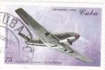 Stamps Cuba -  Messerschmitt ME 109 avión de combate alemán