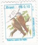 Stamps Brazil -  Aves- Columbina talpacoti