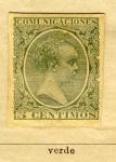 Sellos de Europa - España -  Alfonso XVIII Comunicaciones