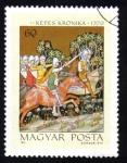 Sellos de Europa - Hungría -  Kepes kronika 1370