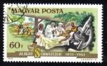 Stamps Hungary -  Albert Schweitzer 1875-1965