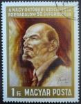 Sellos de Europa - Hungría -  La Gran Revolución Socialista de Octubre - 50 aniversario