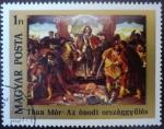 Sellos del Mundo : Europa : Hungría : Mór Than: The Diet of Ónod