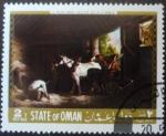 Sellos de Europa - Omán -  G. Morland: Dentro de un establo