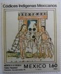 Sellos del Mundo : America : México : Códices Indígenas Mexicanos - Ingreso a la escuela