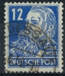 Stamps : Europe : Germany :  DDR SCOTT_10N33 FRIEDRICH ENGELS