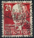 Stamps : Europe : Germany :  DDR SCOTT_10N37 ERNST THALMANN