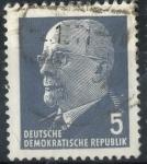 Sellos de Europa - Alemania -  DDR SCOTT_582.02 PRESIDENTE WALTER ULBRICHT
