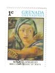Sellos de America - Granada -  Miguel Ángel. 500 Aniversario de su Nacimiento