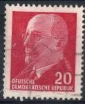 Sellos de Europa - Alemania -  DDR SCOTT_585.01 PRESIDENTE WALTER ULBRICHT