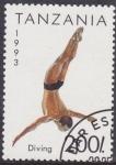 Stamps Tanzania -  Diving