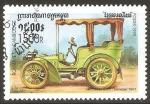 Sellos de Asia - Camboya -  LA   RAPIDE  1881