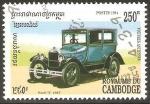 Sellos de Asia - Camboya -  MODEL  T   FORD   1927