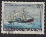 Sellos del Mundo : America : Argentina : 1872 Escuela Naval Militar
