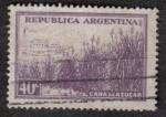 Sellos del Mundo : America : Argentina : Caña de Azúcar