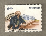 Stamps India -  William Carey