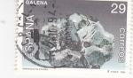 Sellos de Europa - España -  Minerales de España- Galena   (4)