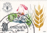 Sellos de Europa - España -  Día Mundial de la Alimentación   (4)