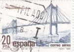 Stamps Spain -  Puente de Rande -Ría de Vigo  (4)