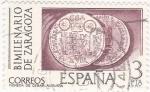 Sellos de Europa - España -  Bimilenario de Zaragoza (4)