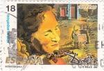 Stamps Spain -  retrato de Gala- DALÍ    (4)