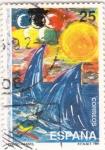 sello : Europa : España : Diseño Infantil-  (4)