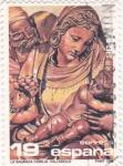 Stamps Spain -  Navidad-96  La Sagrada Família  (4)