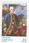 Stamps Spain -  Pedro Pablo Abarca (Conde de Aranda)   (4)