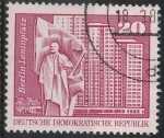 Stamps : Europe : Germany :  DDR SCOTT_1433.01 PLAZA DE LENIN. BERLIN