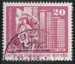 Sellos de Europa - Alemania -  DDR SCOTT_1433.02 PLAZA DE LENIN. BERLIN