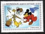Sellos del Mundo : Asia : Mongolia : El Aprediz de Brujo