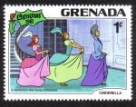 Stamps Grenada -  Cinderella