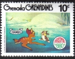 Sellos del Mundo : America : Granada : Bambi