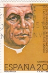 Stamps Spain -  I Centenario de la fundación de las Escuelas del Ave María- padre Manjón   (4)
