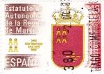Stamps Spain -  Estatuto Autonómico de la región de Murcia  (4)