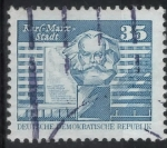 Stamps : Europe : Germany :  DDR SCOTT_2077.02 MONUMENTO A MARXL. ESTADIO KARL MARX