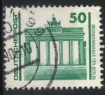 Stamps Germany -  DDR SCOTT_2834 PUERTA DE BRANDEMBURGO. BERLIN
