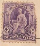 Stamps : America : Cuba :  Esfinge