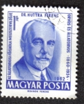 Stamps of the world : Hungary :  Dr. Hutyra Ferenc
