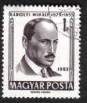 Stamps of the world : Hungary :  Karolyi Mihaly