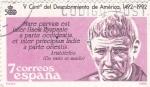 Stamps Spain -  V Centenario del Descubrimiento de América 1492-1992   (4)
