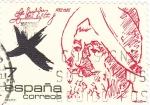 Stamps Spain -  Bernal Díaz del castillo   (4)