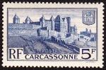 Sellos de Europa - Francia -  FRANCIA - Ciudad fortificada hist�rica de Carcassonne