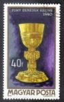 Sellos de Europa - Hungría -  Suky Benedicto cáliz 1440