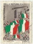 Stamps : Europe : Italy :  30 AÑOS DE LA REPUBLICA