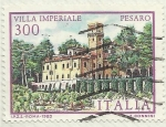 Stamps : Europe : Italy :  VILLA IMPERIALE PESARO