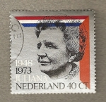 Stamps Europe - Netherlands -  Reina Juliana 1948-1973